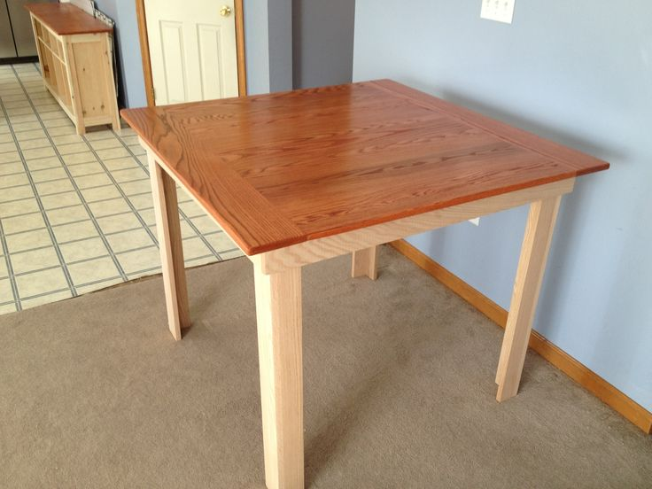 Anna Whites counter height kitchen table plans. Will probably make ...
