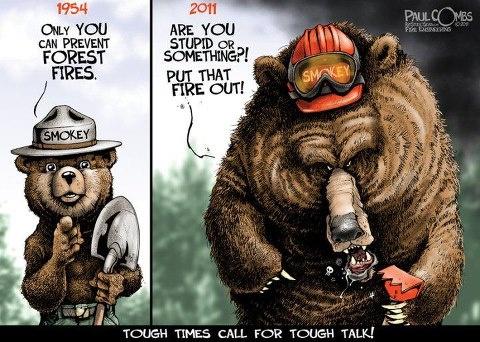 Smokey The Bear Fire Ems Pinterest