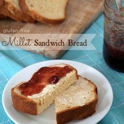 Gluten Free Millet Sandwich Bread. I'm trying this bread tonight using ...