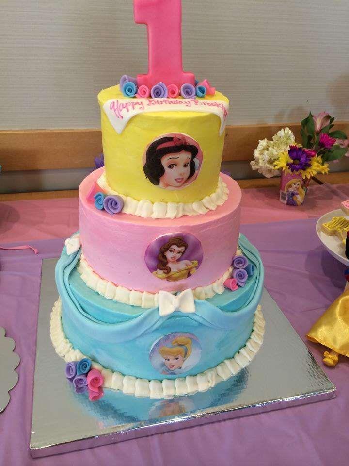 Princess Cake Design Pinterest : Disney Princess Birthday Party Ideas