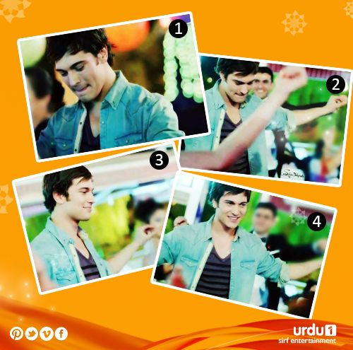 Which pose Amir do you love the most? 1 , 2 , 3, 4?