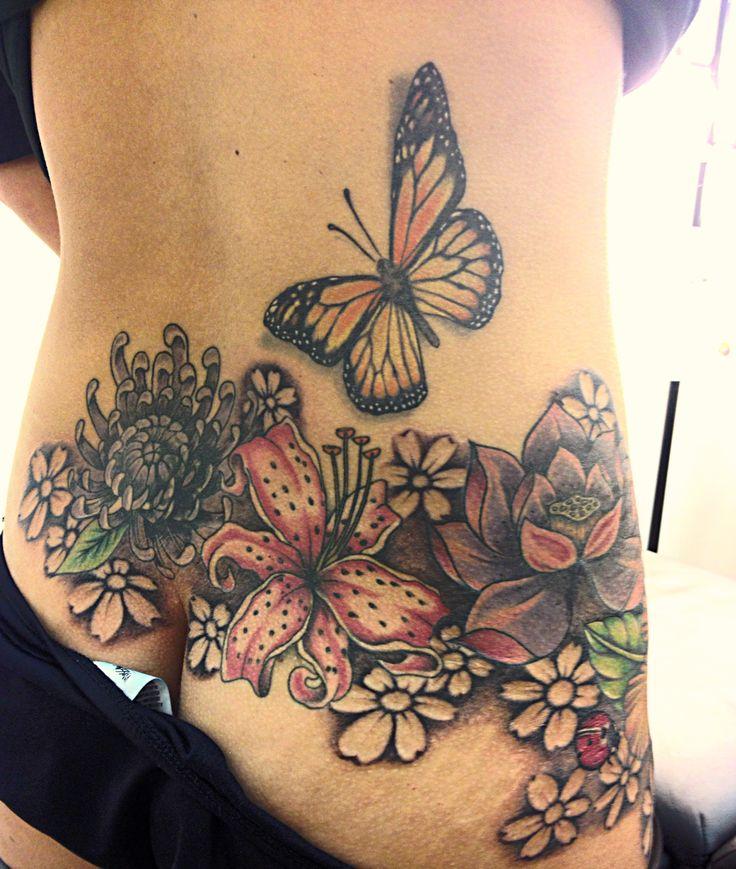 lower back and hip tattoo tattoo pinterest. Black Bedroom Furniture Sets. Home Design Ideas