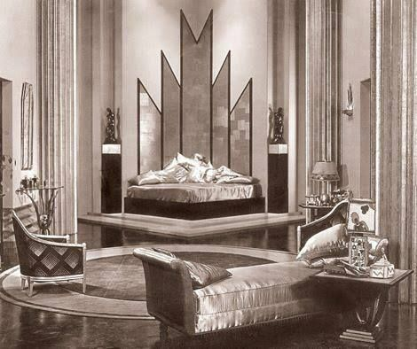 Jill Blake's Art Deco bedroom | Art Deco 1920's-1930's ...