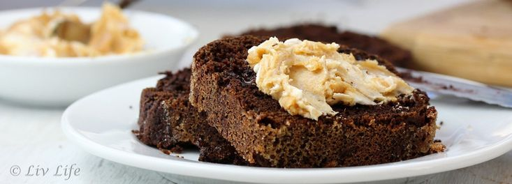 ... Double Chocolate Quick Bread with Cream Cheese and Peanut Butter