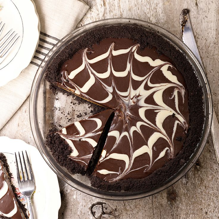 ... room for pie! How about this Chocolate Peanut Butter Truffle Tart