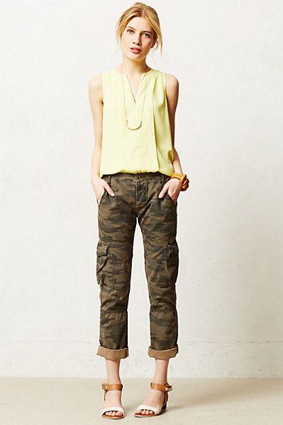 Camo Cargos | Fashion Love | Pinterest