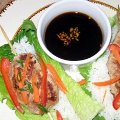 Asian Roll Lettuce Wrap