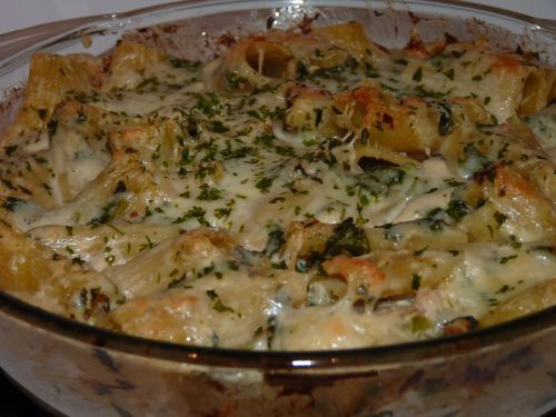 Chicken Spinach Artichoke Baked Pasta | Recipes | Pinterest