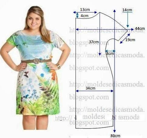Как сшить простое платье своими руками для  801