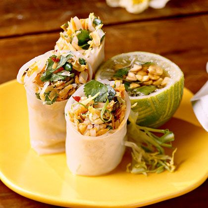 Summer Rolls With Thai Dipping Sauce | Recipe