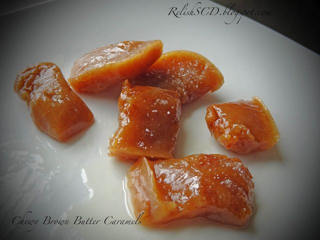 Brown Butter Caramel Candies | Paleo Desserts | Pinterest