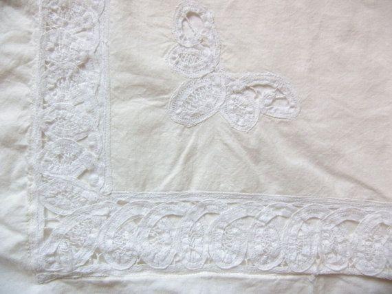 Vintage Shabby Chic Pillow Shams : Pinterest