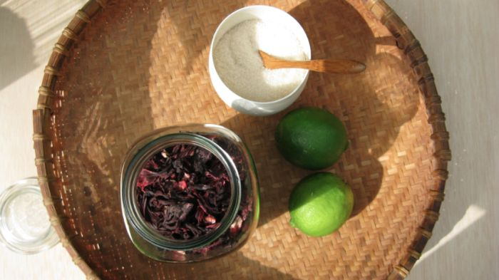 Hibiscus & lime tea | .tea 4 two. | Pinterest