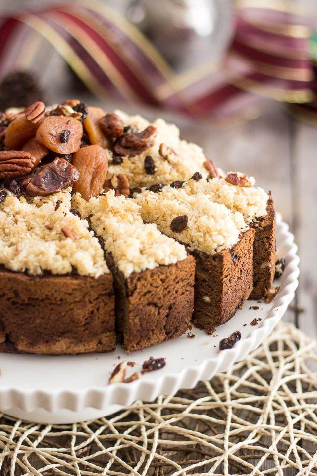 Paleo Chestnut Fruit Cake | Recipe