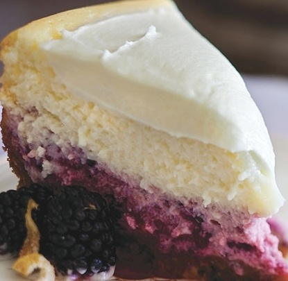 Lemon BlackBerry #Cheesecake | SCRUMPTIOUS Food & Desserts | Pinterest