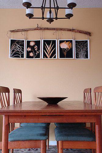 Cool Idea: Alternative Art Hanging