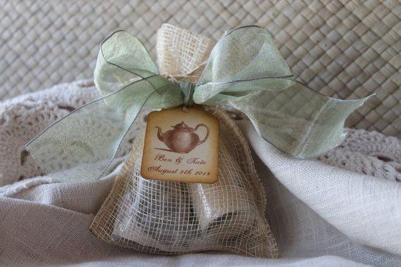 tea party favor wedding bridal shower baby shower belle savon vermont