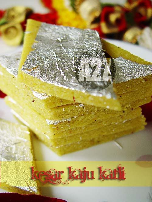 Kesar Kaju Katli.. my fav! | Indian sweets | Pinterest