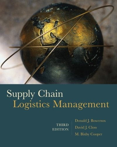 Bestseller Books Online Supply Chain Logistics Management (Mcgraw-Hill ...