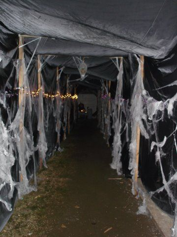 Entrance And Haunted House Ideas
