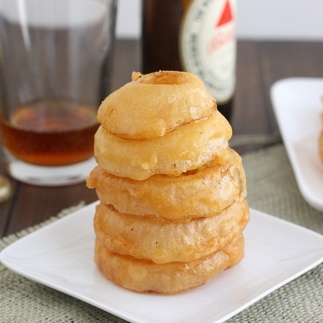 Beer-Battered Onion Rings by Tracey's Culinary Adventures, via Flickr