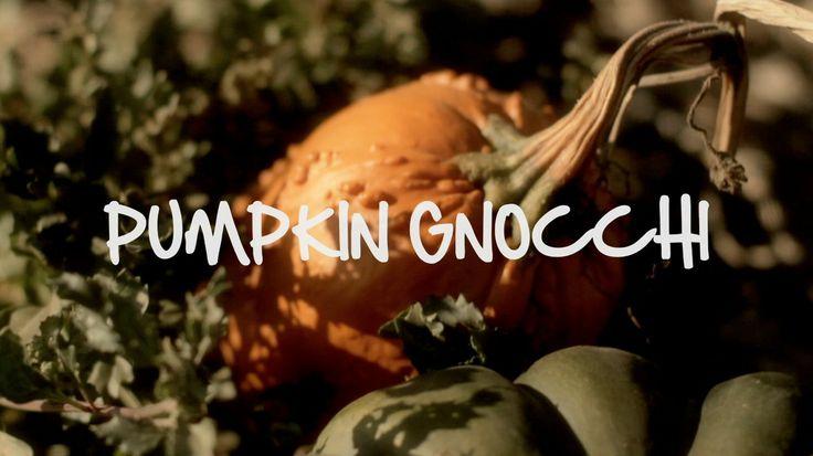 Pumpkin Gnocchi on Vimeo | //FOOD VIDEO// | Pinterest