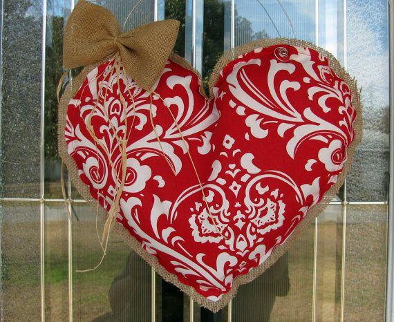 valentine's day door art