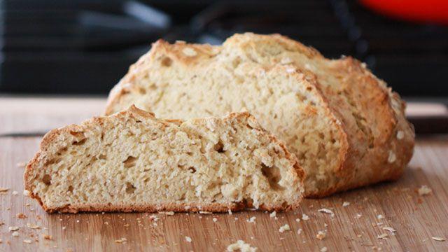 irish oatmeal soda bread | Breads, Donuts, etc. | Pinterest