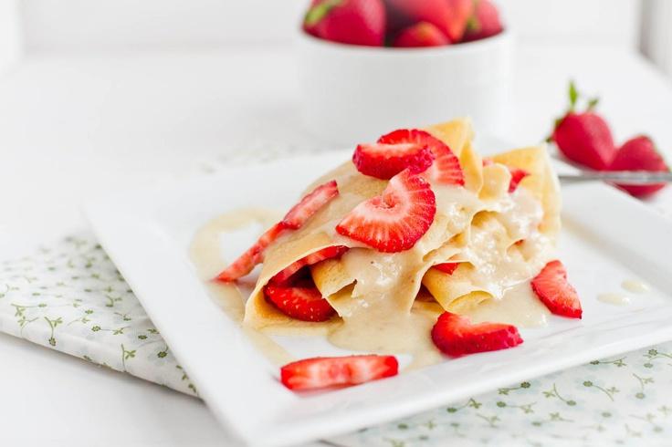 Peanut Butter and Banana Breakfast Crepe - Naturally Ella (Dessert ...