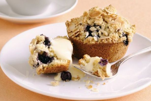 Almond and blueberry crumble muffins | Life Is Short; Eat Dessert Fir ...