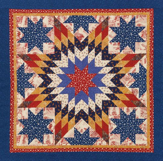 Quilting Pattern For Lone Star : lone star quilt Everything Pinterest