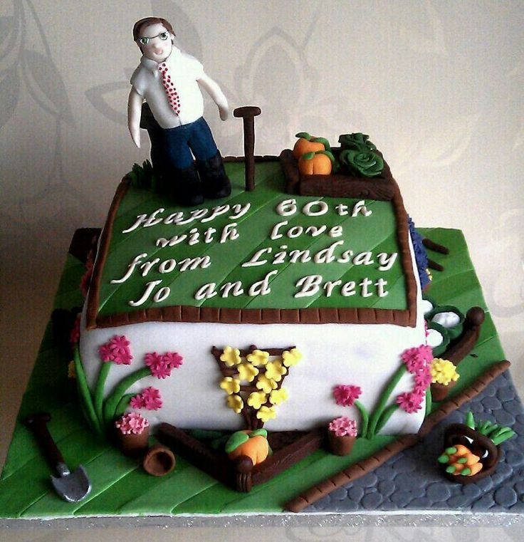 images of cakes with garden theme - photo #7