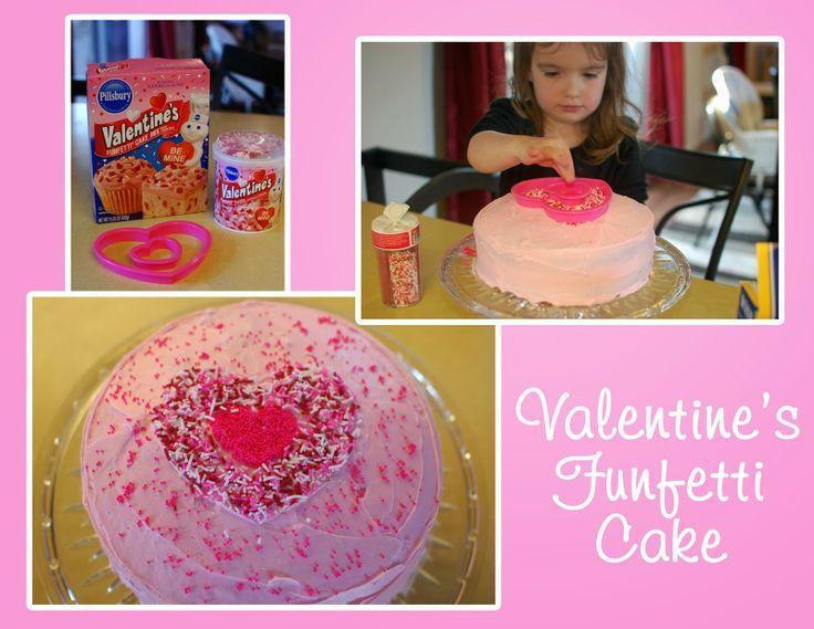 valentine's day funfetti cupcakes