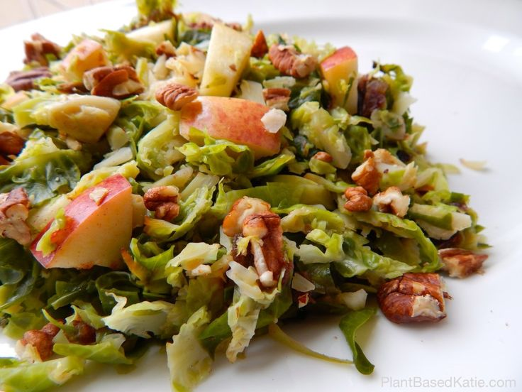 Brussels Sprouts with Apples & Pecans - amazingly sweet way to enjoy # ...