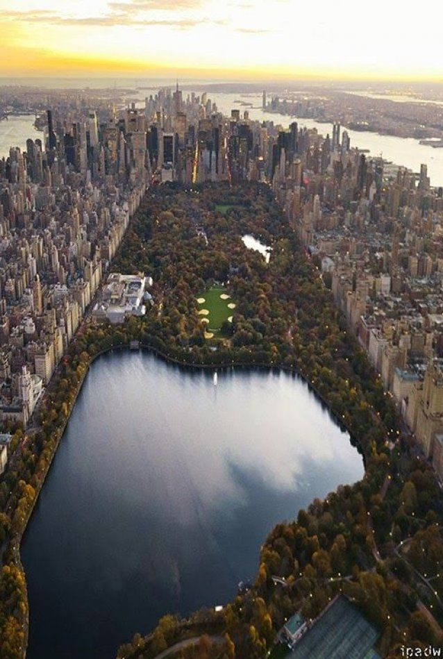 Top view of central park manhattan new york city for Best places to go in central park