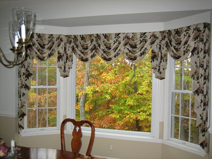 window treatments for bay windows home decor ideas