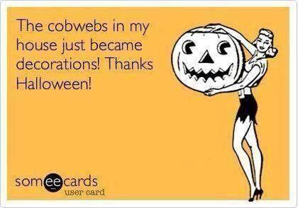 Halloween humor from DesignYourOwnBlog.com
