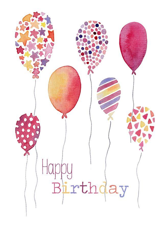 Birthday Wishes With Balloons : Birthdays