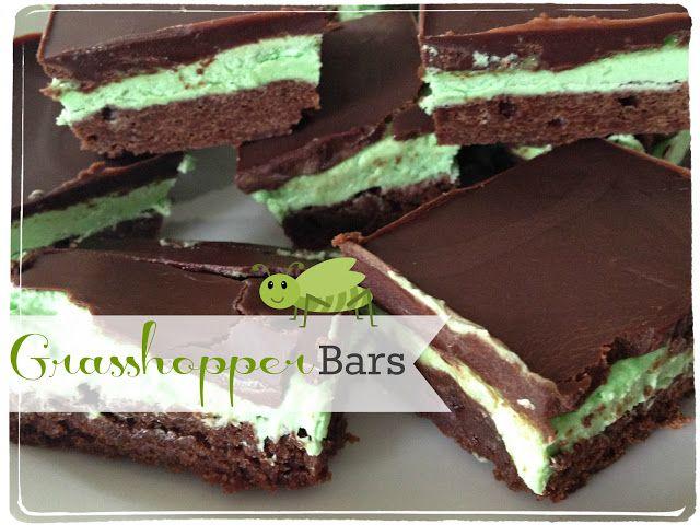 bars grasshopper brownie cookies easy grasshopper bars grasshopper ...