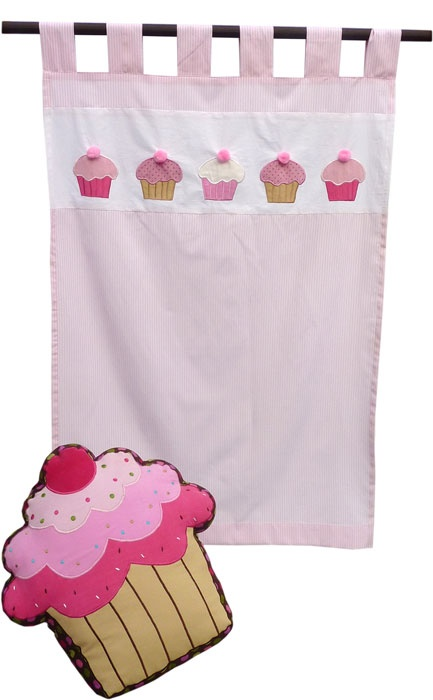Cupcake Kitchen Curtain Cupcake Collection Pinterest