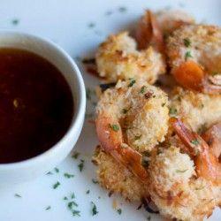 Skinny Coconut Shrimp | Seafood | Pinterest