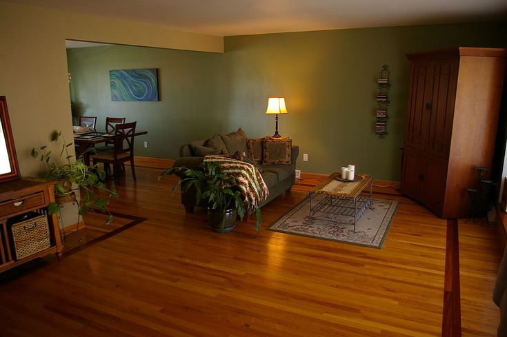 Sage Green Living Room Dining Room