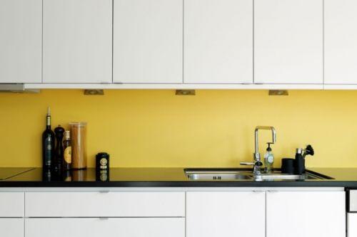 white black yellow kitchen ideas pinterest
