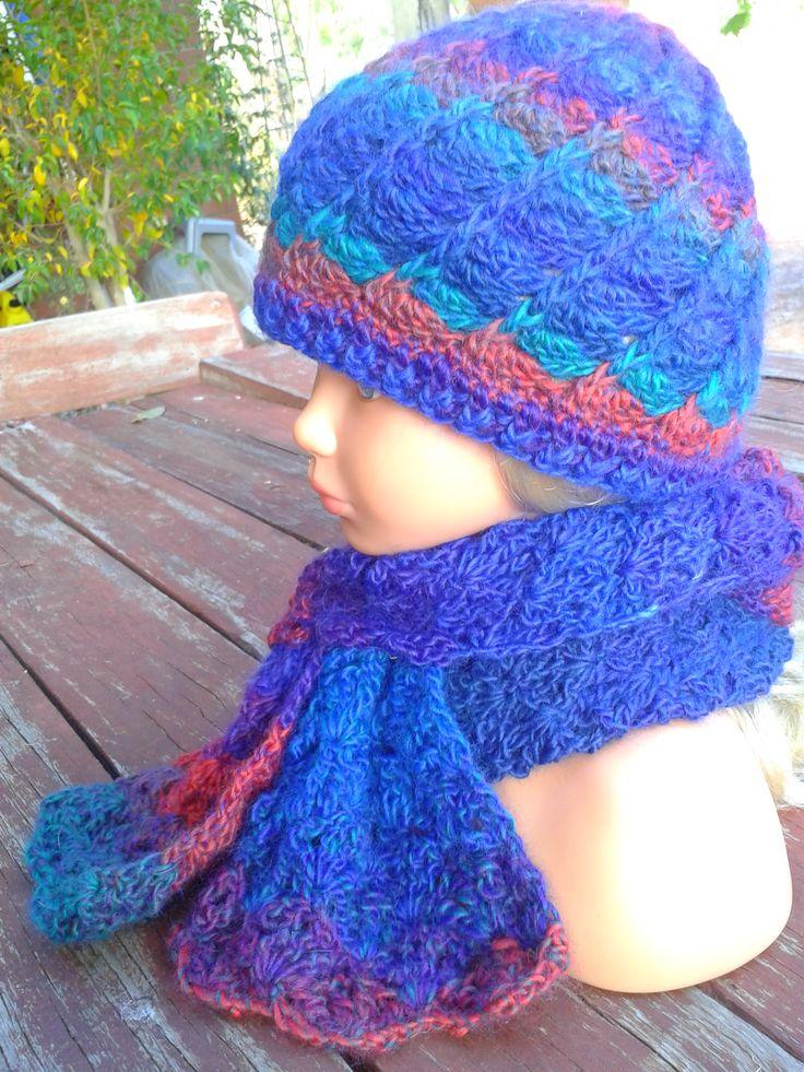 Moda Vera Knitting Patterns Scarf : Pin by Linda Davie on Crochet Ive done! Pinterest
