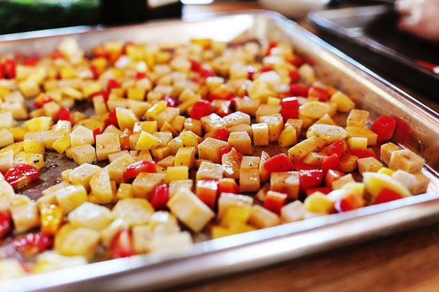 """Roasted Root Vegetable """"Candy""""--this was so yummy, added pearl ..."""
