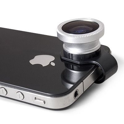 Gizmon Clip-On Lenses $35 - Fisheye, Circular Polarizer or the 3-Image Mirage filter. #iphone #gadget - give me!