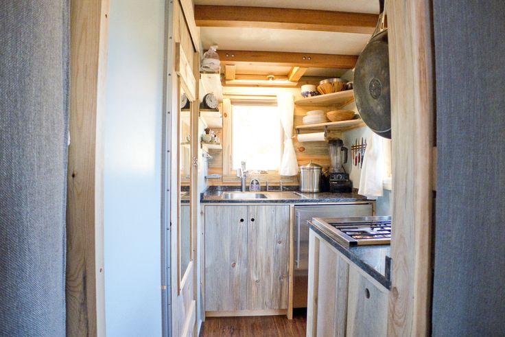 Aleks tiny house To the kitchen Tiny Houses on wheels