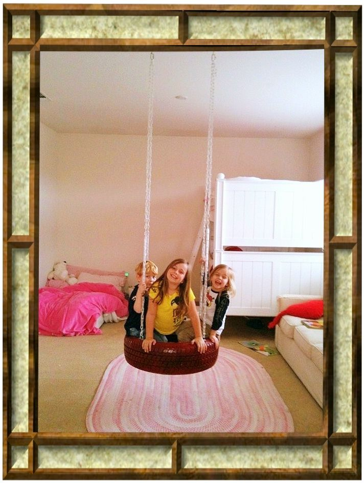 bedroom playroom tire swing how fun playroom pinterest