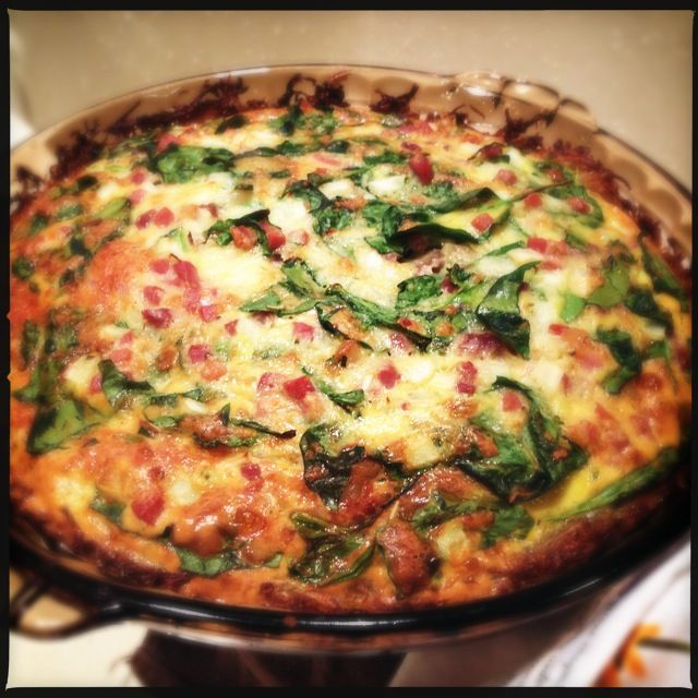 Gruyere And Pancetta Quiche With Hash-Brown Crust Recipe ...