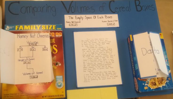 cereal box project book report